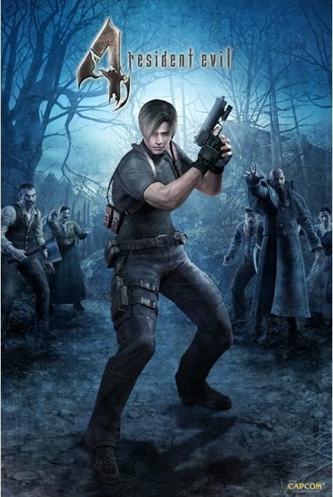 Plagát RESIDENT EVIL 4 - woods