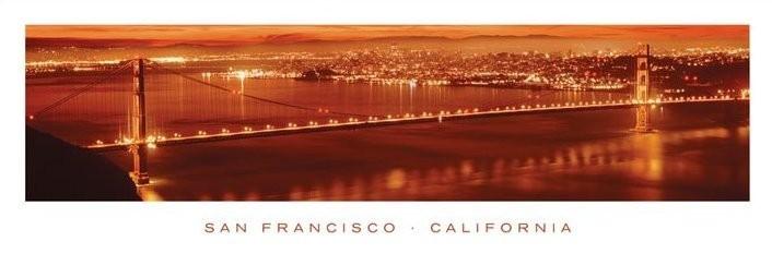 Plagát San Francisco - california