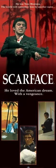 Plagát SCARFACE - american dream