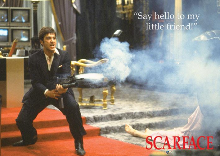 Plagát SCARFACE - my little friend