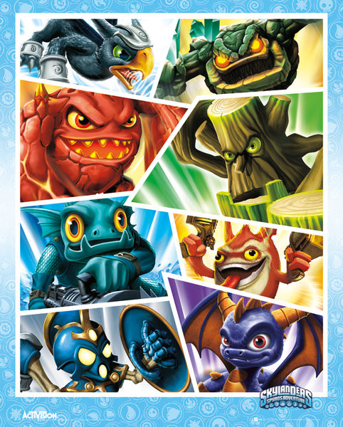 Plagát Skylanders Shards