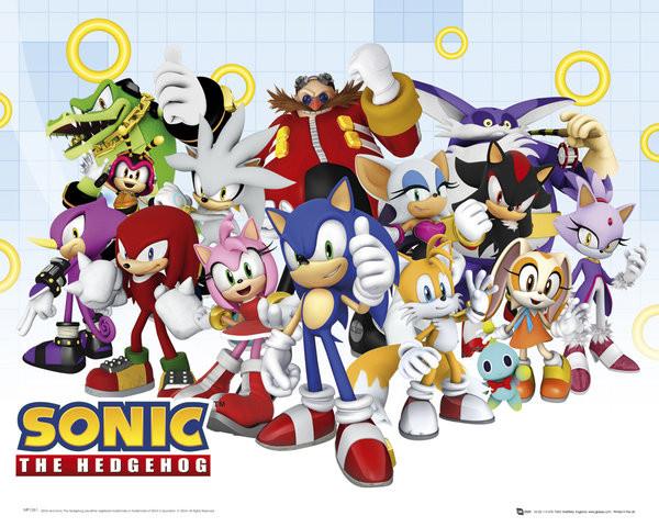 Plagát Sonic modern