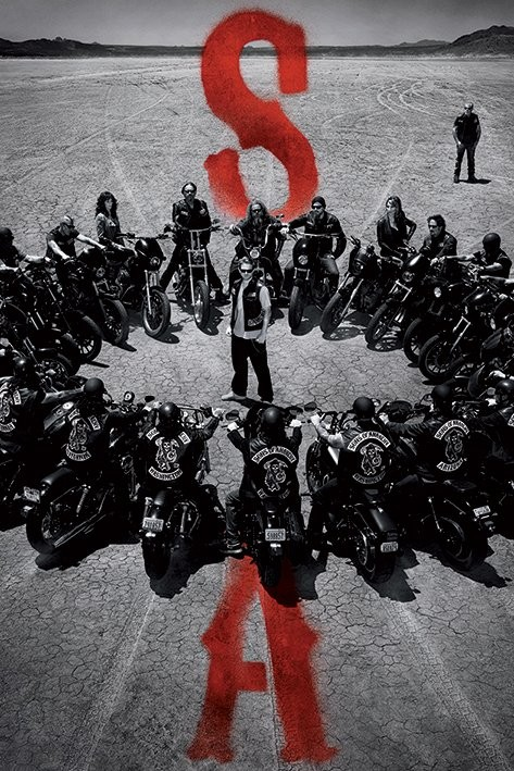 Plagát Sons of Anarchy (Zákon gangu) - Circle