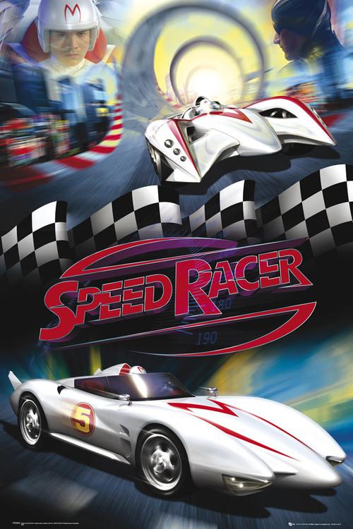Plagát Speed racer - mach 5