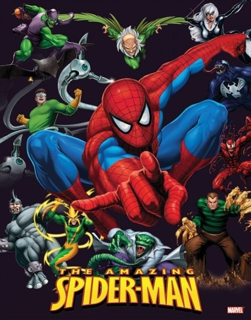 Plagát SPIDER-MAN - characters