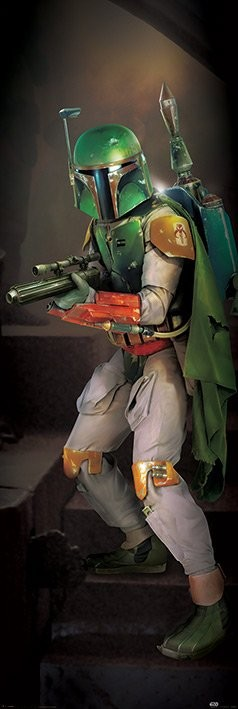 Plagát Star Wars - Boba Fett