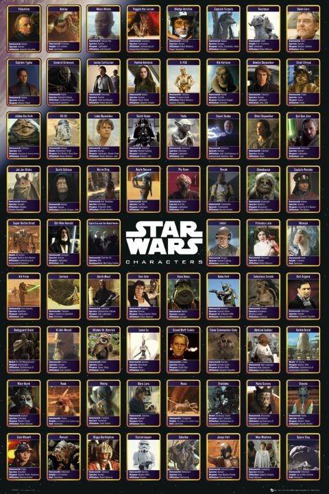 Plagát STAR WARS - compilation