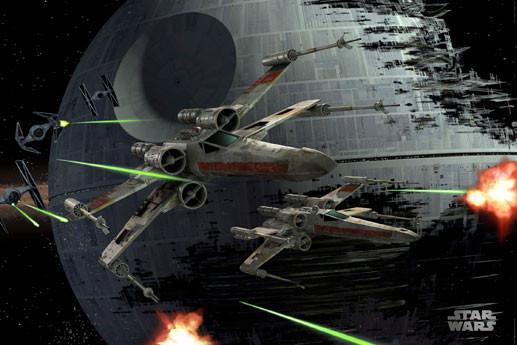 Plagát STAR WARS - Death star