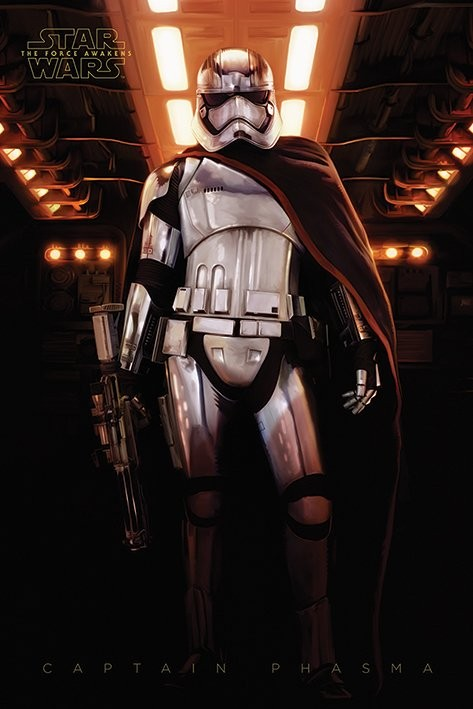 Plagát Star Wars : Epizóda VII - Captain Phasma