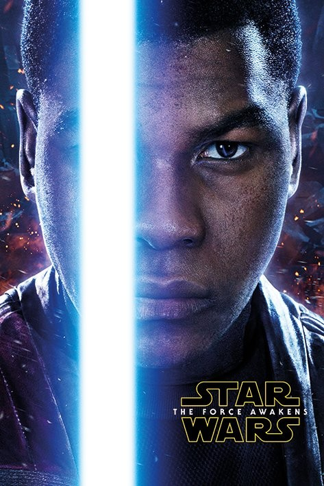 Plagát Star Wars : Epizóda VII - Finn Teaser