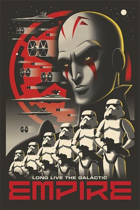 Plagát Star Wars Rebels - Long Live
