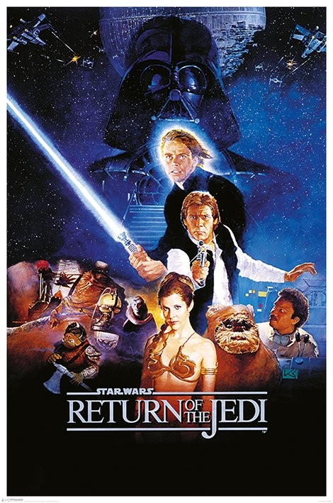 Plagát Star Wars: Return Of The Jedi - One Sheet