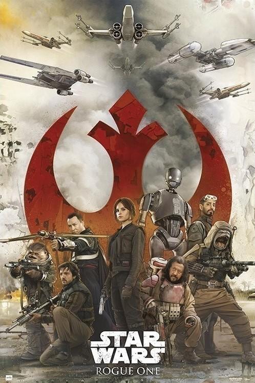 Plagát  Star Wars: Rogue One - Rebels
