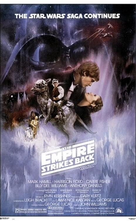 Plagát  Star Wars - The Empire Strikes Back