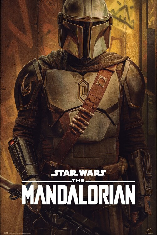 Plagát Star Wars: The Mandalorian - Season 2