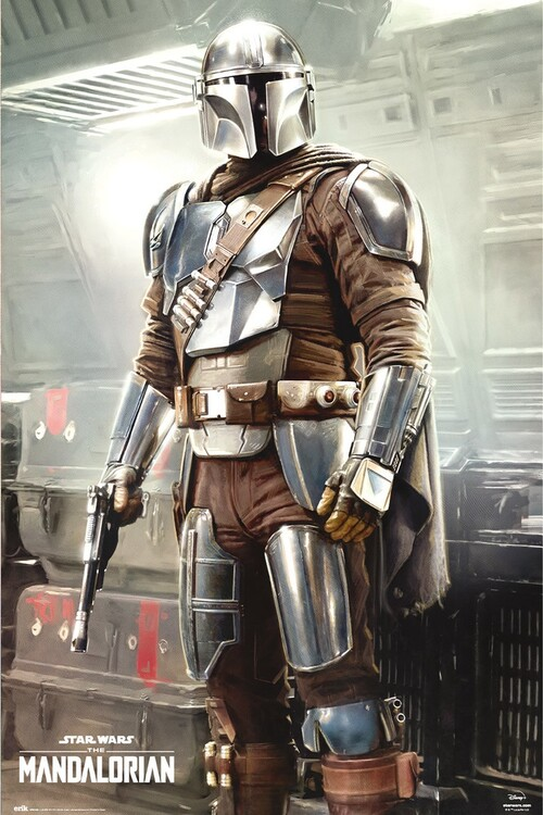 Plagát Star Wars: The Mandalorian - This is The Way