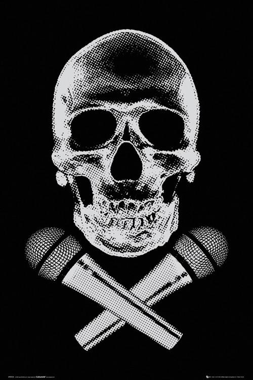 Plagát Steez - skull