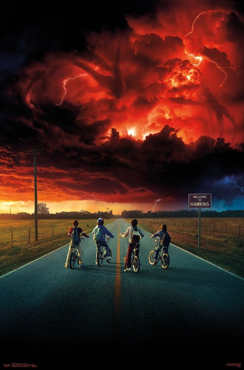 Plagát Stranger Things - Key Art