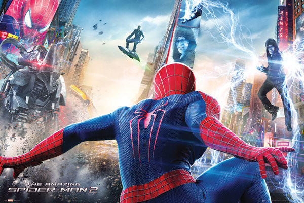 Plagát THE AMAZING SPIDERMAN 2 - attack