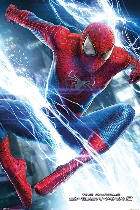 Plagát The Amazing Spiderman 2 - Leap