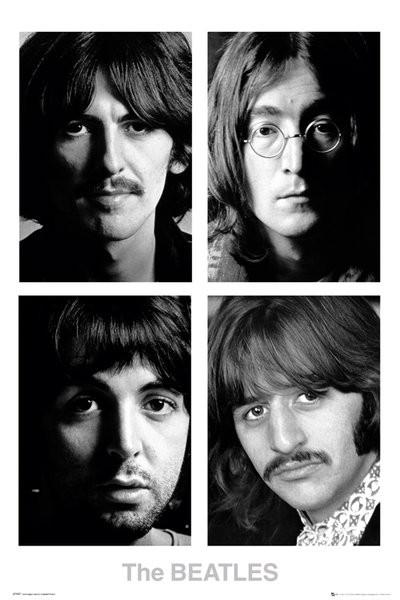 Plagát  The Beatles - White album