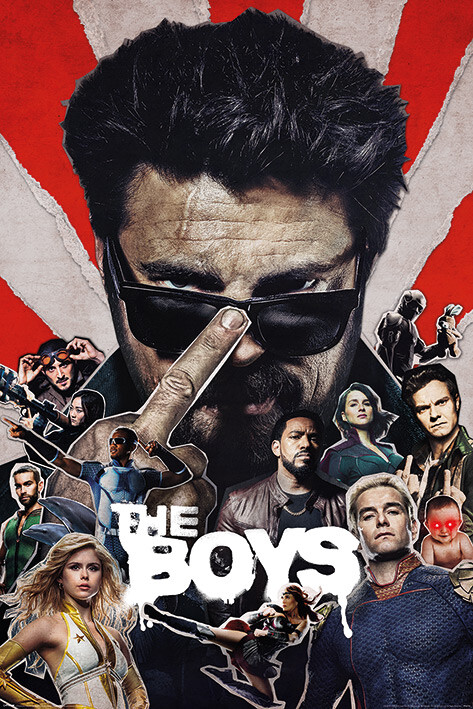 Plagát The Boys - Sunburst