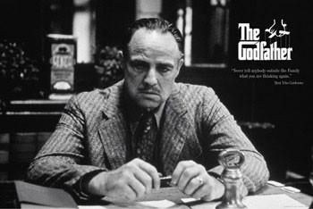 Plagát The Godfather - family