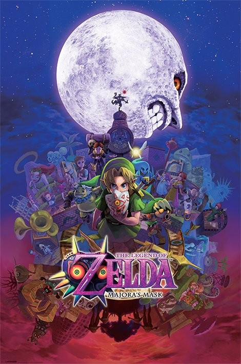 Plagát The Legend Of Zelda - Majora's Mask