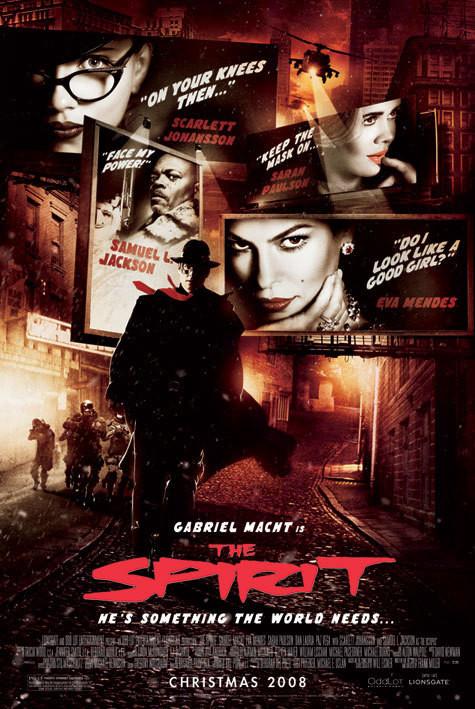 Plagát THE SPIRIT - one sheet