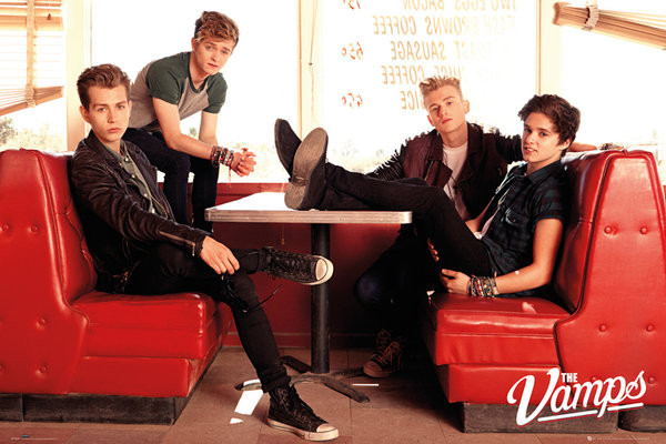 Plagát The Vamps - Diner