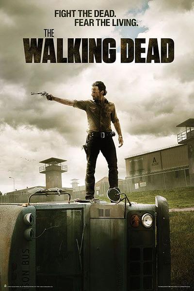 Plagát THE WALKING DEAD - season 3 fight the dead.