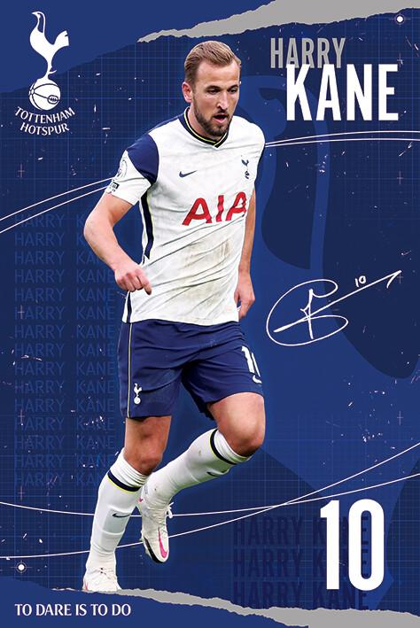 Plagát Tottenham Hotspur FC - Kane