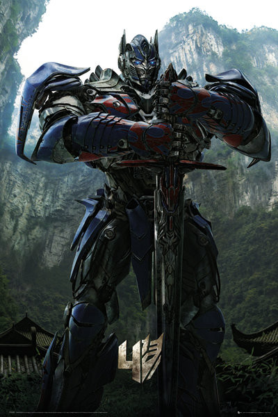 Plagát Transformers 4: Age of Extinction - Optimus Teaser