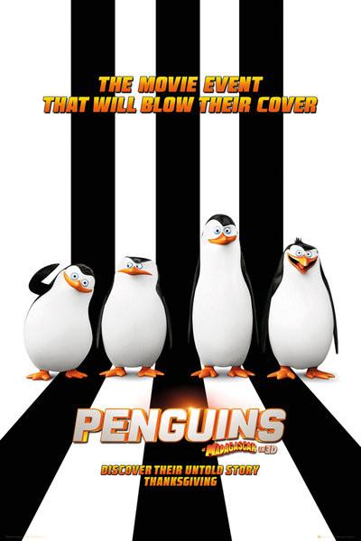 Plagát Tučniaky z Madagascaru - One Sheet