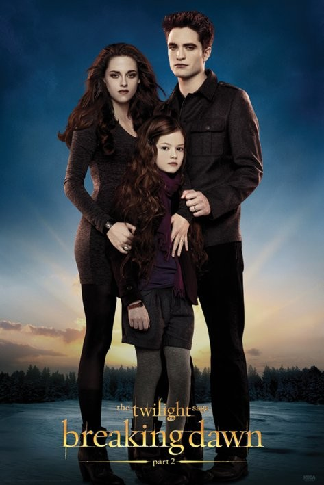 Bella As A Vampire With Edward And Renesmee
