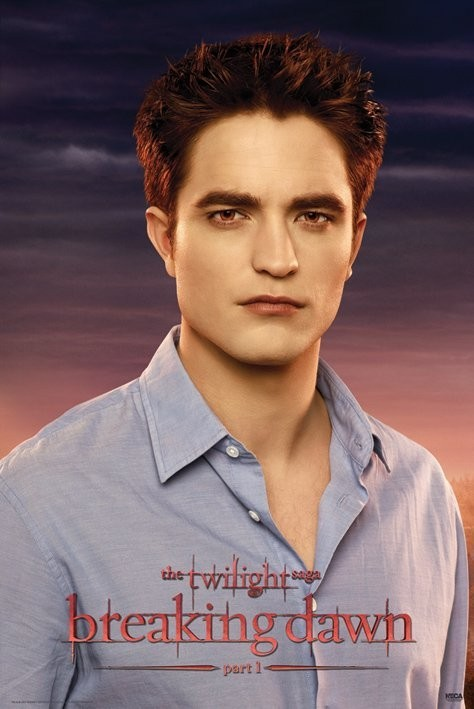 Plagát TWILIGHT BREAKING DAWN - edward