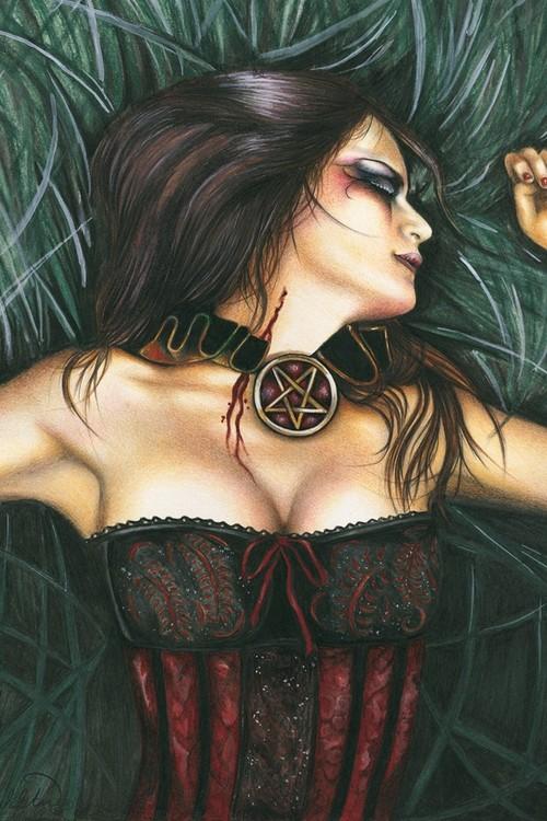 Plagát Vampire girl