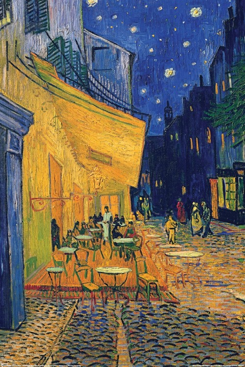 Plagát Vincent van Gogh - café terrace
