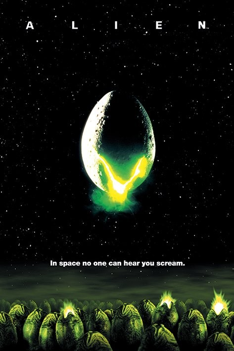 Plagát Votrelec (Alien) - One-sheet