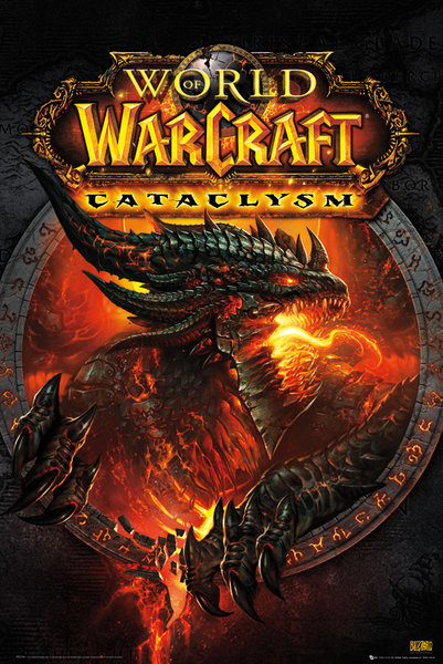 Plagát World of Warcraft - cataclysm