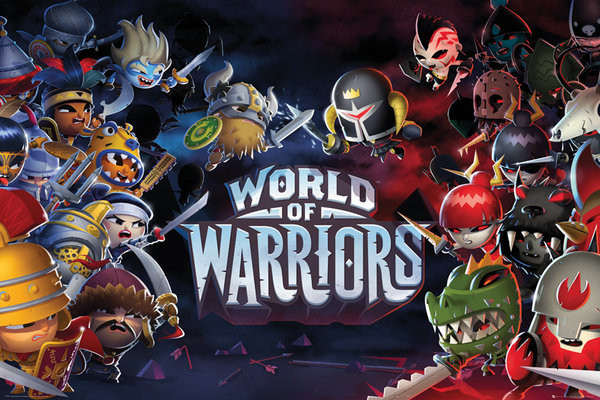 Plagát World of Warriors - Characters
