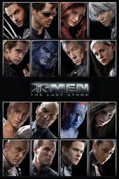 Plagát X-MEN - characters