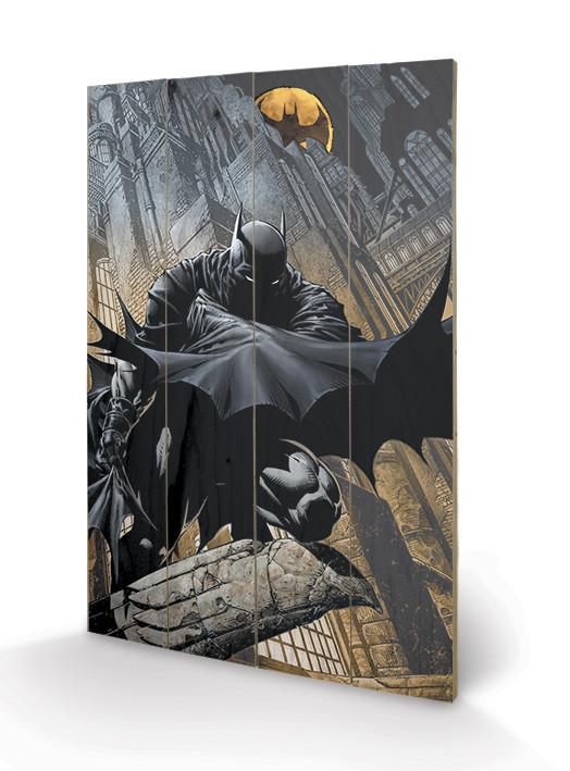 Batman - Night Watch plakát fatáblán