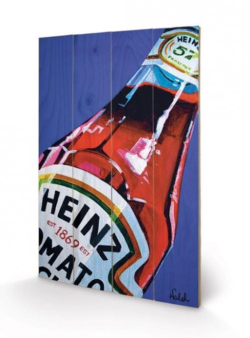 Heinz - TK Orla Walsh  plakát fatáblán