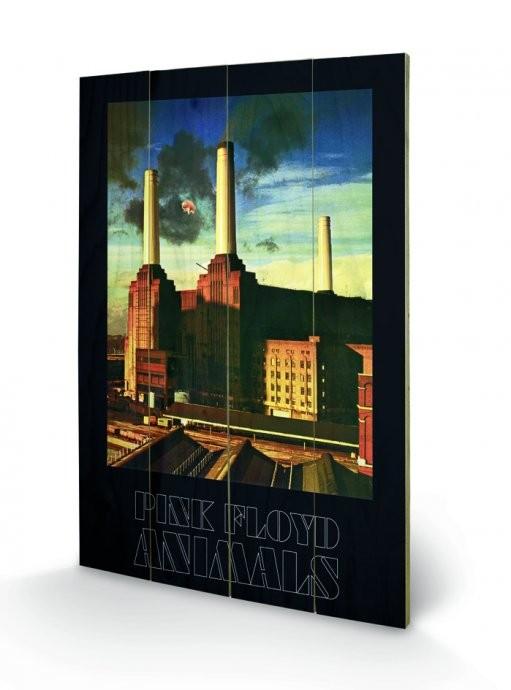 Pink Floyd - Animals  plakát fatáblán