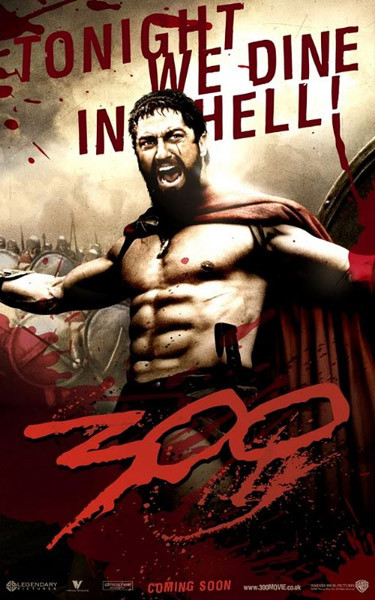 300 - tonight we dine in hell Plakat