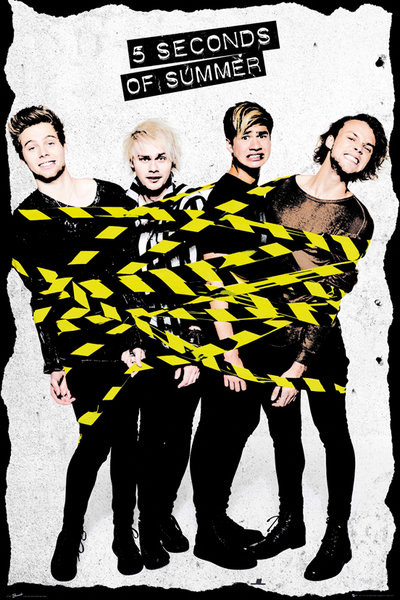 5 Seconds Of Summer - Tape Plakat