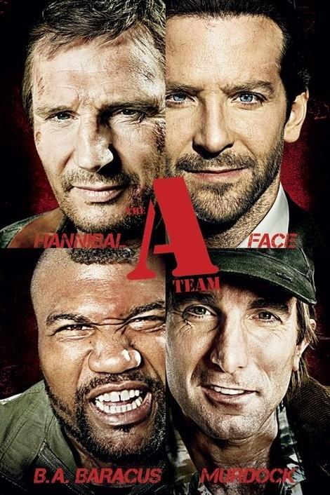 A-TEAM - teaser Plakat