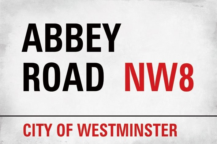 Abbey road Plakat