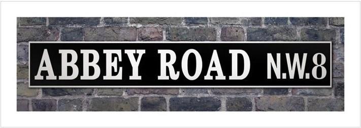 Abbey Road Kunsttryk